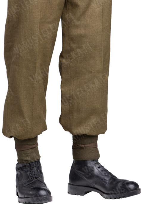 boot blousers mil tec elastic trouser blousers two pairs varusteleka