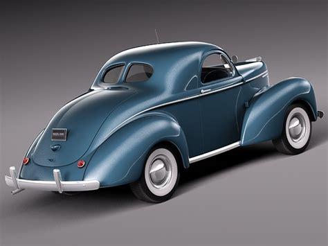 Willys Coupe 1940 3D Model MAX OBJ 3DS FBX C4D LWO LW LWS