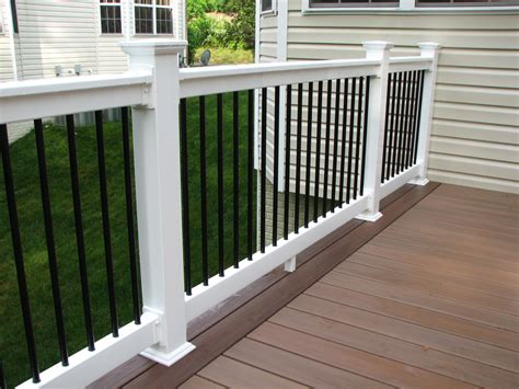 Porch Banisters by Deck Railing Gallery Hnh Deck And Porch Llc 443 324 5217