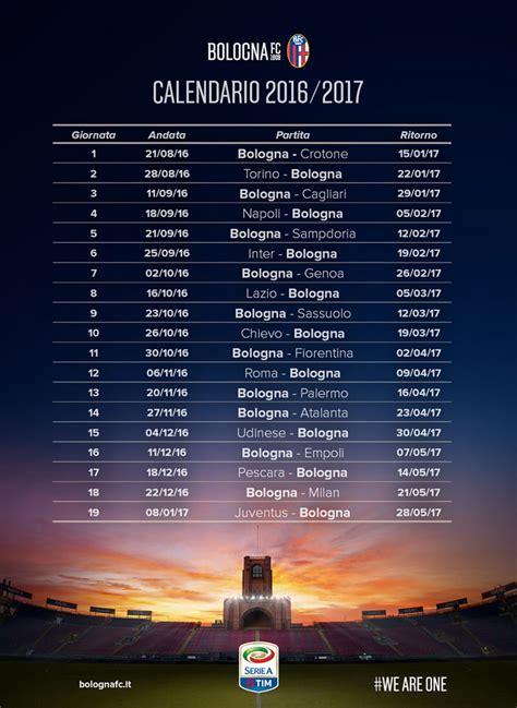Calendario Partite Serie A Bologna Calendario Delle Prossime Partite Bologna Fc 1909