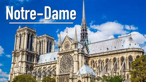 notre drame de paris 2226397868 notre dame de paris france cath 233 drale notre dame cathedral paris france youtube