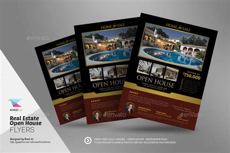 real estate open house template real estate open house flyer templates by kinzishots graphicriver