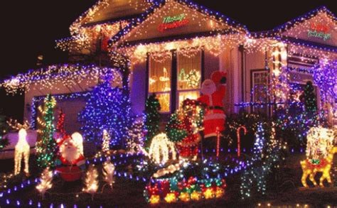 christmas lights christmas decorations gif