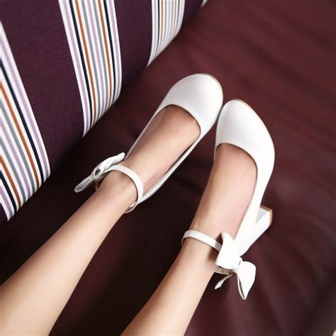 Heels Dh 26 2014 korean fashion waterproof single shoe stiletto heels shoes bow item kyiy592