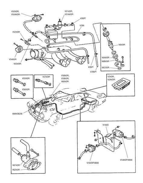 parts for volvo p1800 e s es injection