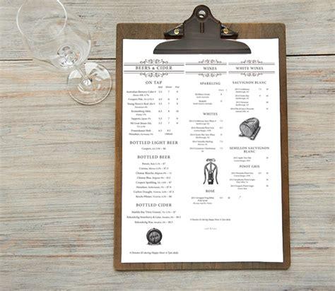 menu design graphic graphic design for sydney restaurants restaurant graphic