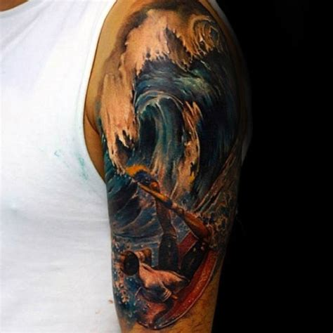 surf tattoos 90 surf tattoos for oceanic design ideas