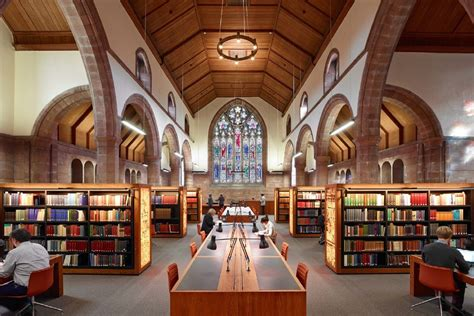 Original Bookcases Martyrs Kirk Research Library Historic Buildings