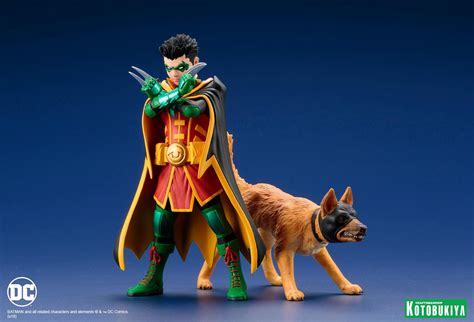 Artfx Kotobukiya kotobukiya sons robin ace the bat hound 2 pack