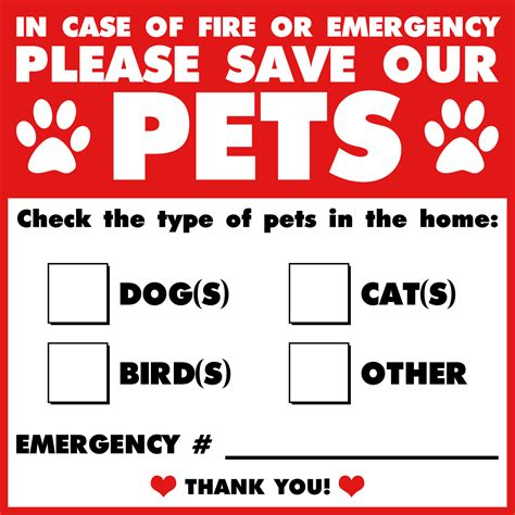 Aufkleber Feuerwehr Tiere by 30 Infographics That Can Save Your Pet Pet Safety Tips
