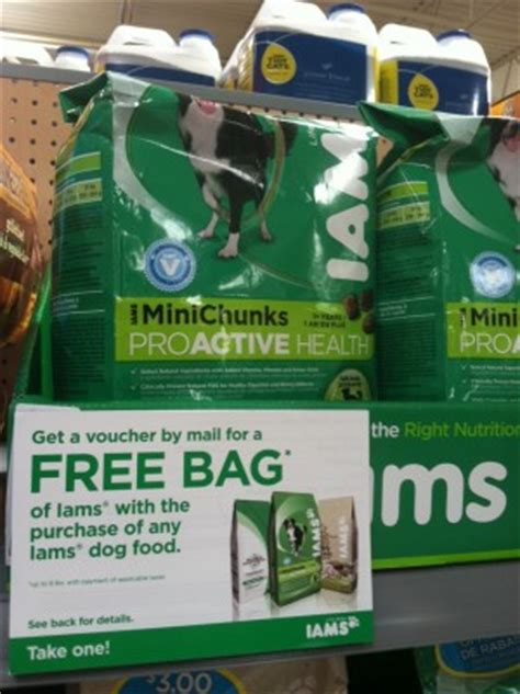 dog food coupons for walmart walmart iams pet food deal 2 76 for 8lbs mylitter