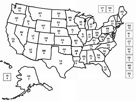 Free Coloring Pages Of Blank The United States United States Map Coloring Page