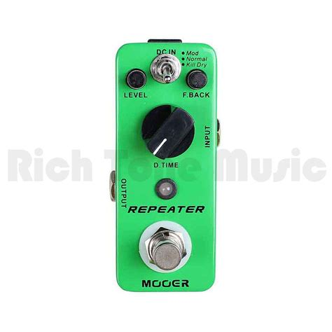 Ibanez Delay Lab Effect Pedal mooer repeater 3 modes digital delay fx pedal rich tone