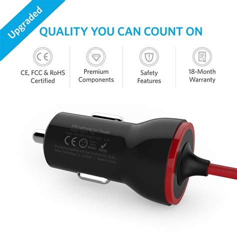 Charger Mobil Usb Anker Powerdrive 2 Kabel Micro Usb Usb Car Charger 1 powerdrive lightning 12w charger iphone lightning connector anker