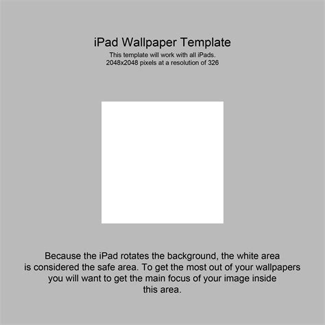 ipad wallpaper template  hassified  deviantart