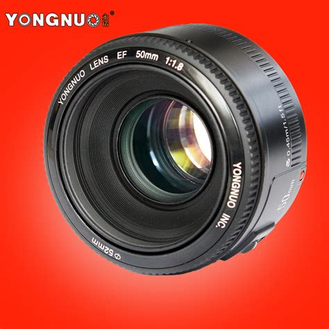 Best Seller Lensa Yongnuo 50mm F 1 8 For Canon buy wholesale f human from china f human