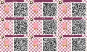 Pink brick path acnl animal crossing new leaf qr code acnl town