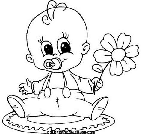 imagenes de animales bebes para dibujar dibujos tiernos de beb 233 s para colorear colorear im 225 genes