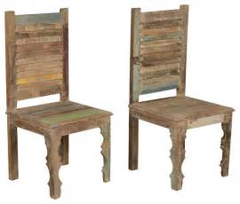 Rustic Wood Dining Chairs Farmhouse Rustic Reclaimed Wood Dining Chair Set Of 2 Rustic Dining Chairs