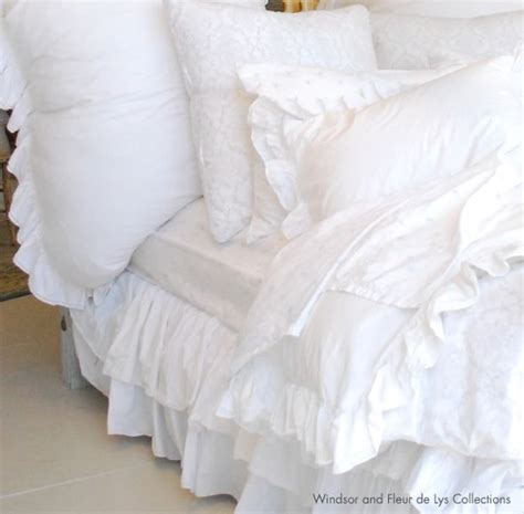 big fluffy white comforter what i want for white fluffy ruffelly and frilly bedding