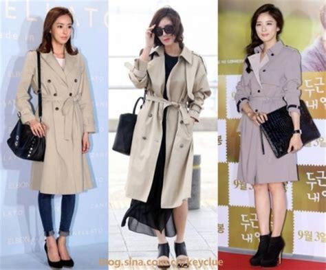 Bk 22 Korean Style Style 韩国女星亲身示范秋季外套最佳搭配法 外套 韩国女星 搭配法 新浪时尚 新浪网