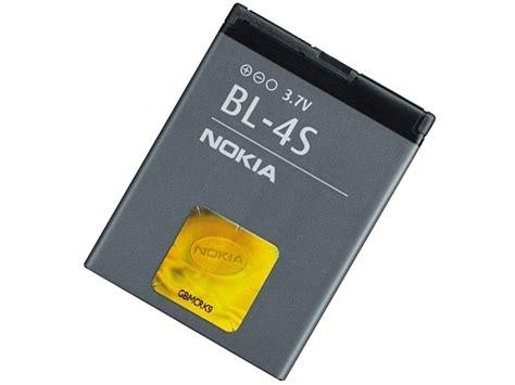 Original Nokia Battery Bl 4s Bagus original akku nokia bl 4s 2680 3600 6208 7100 7610 x3 02