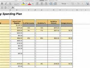 Training Report Template creating a zero based budget youtube
