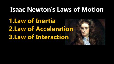 isaac newton biography laws of motion motion and newton