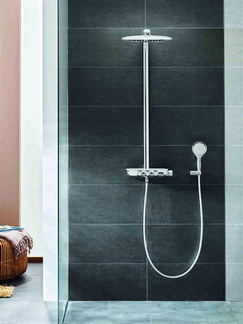 Adjust Water Temperature Shower grohe s new smartcontrol takes modern shower control to