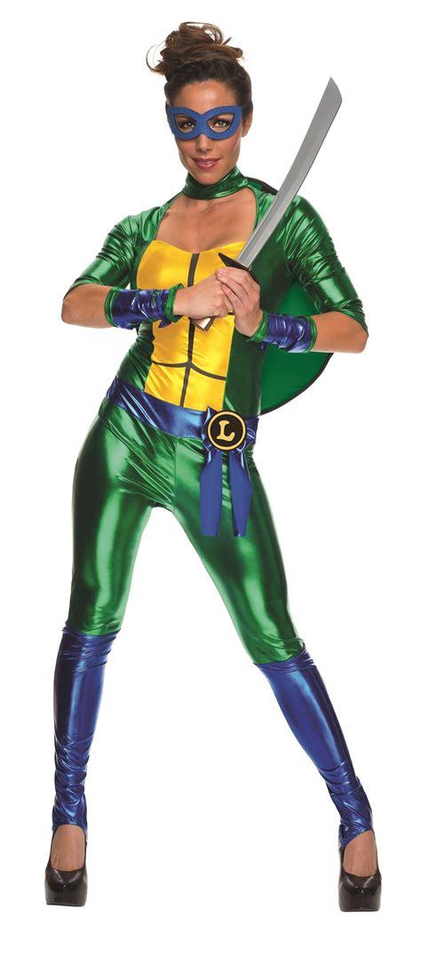 sexy ninja turtle halloween costume adult leonardo woman ninja turtle costume 41 99 the