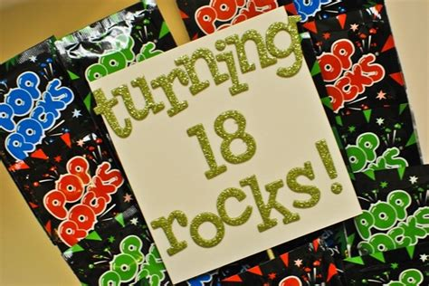 gifts for turning 18 turning 18 rocks pop rocks birthday gift from my