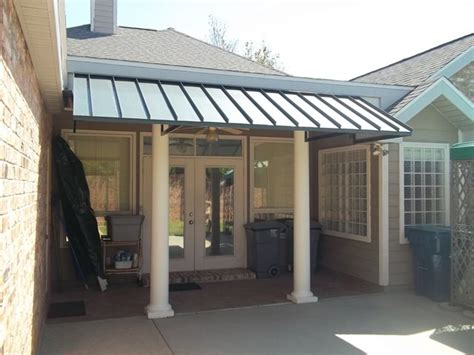 awning ideas for porch metal porch awnings large dimensions patio center can design any shape size standing seam