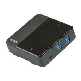 Aten Usb Periperal Switch Us221a Dan Us421a 2 port usb 2 0 peripheral switch us221a