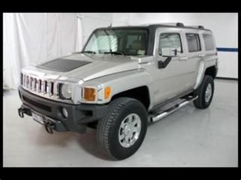 purchase used 07 hummer h3 4x4 leather all power low