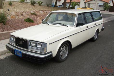 volvo v8 1981 volvo 240 wagon v8