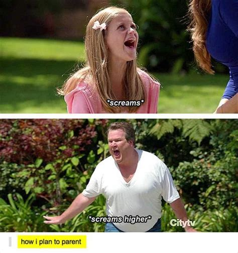 Dad Yelling At Daughter Meme - 25 best modern family quotes on pinterest modern family