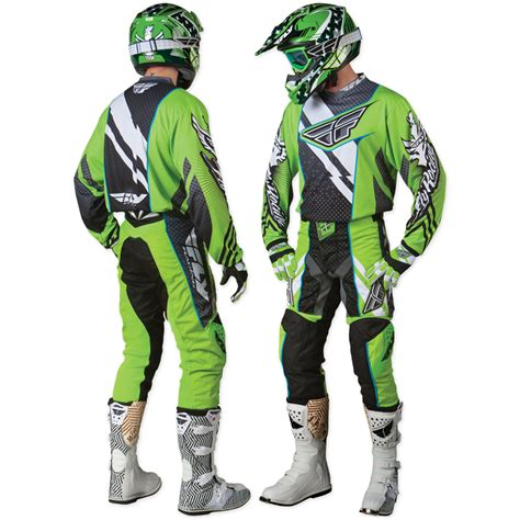motocross jersey and pants combo fly racing 2012 f 16 green black mx enduro motocross