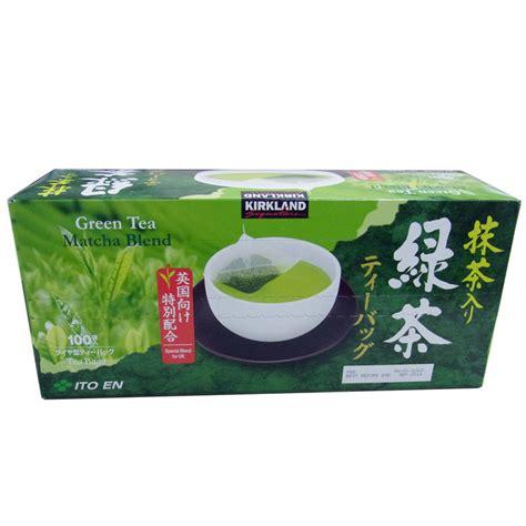 Matcha Green Tea Blend kirkland signature green tea matcha blend 100 tea bags