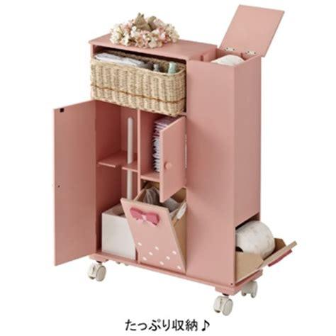 romapri bathroom cleaning storage キャスター付トイレラックqb