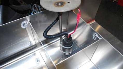 marine fuel tank baffle design building an aluminum fuel gas tank cell vw pinterest