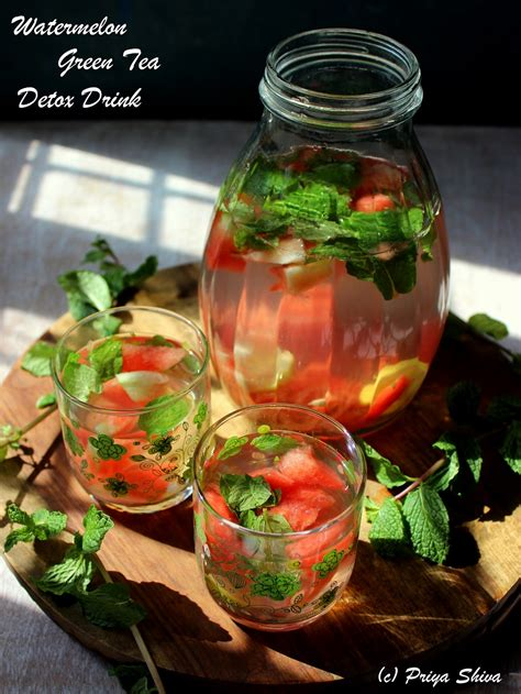 Green Tea Detox For by Watermelon Green Tea Detox Drink Kitchenette
