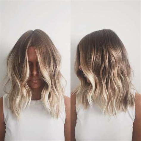 balavage haircolor for medium length blonde hair 90 balayage hair color ideas with blonde brown and