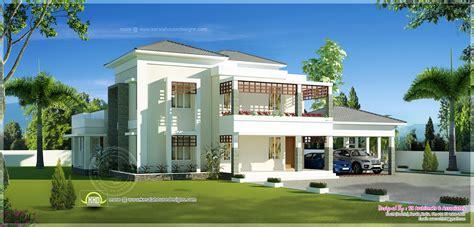 house beautiful com beautiful double storey modern villa exterior kerala
