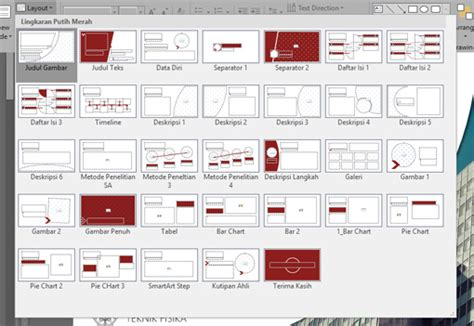 format layout skripsi template presentasi skripsi presentasi net