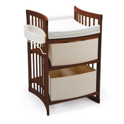 stokke changing table stokke care changing table walnut brown baby shop
