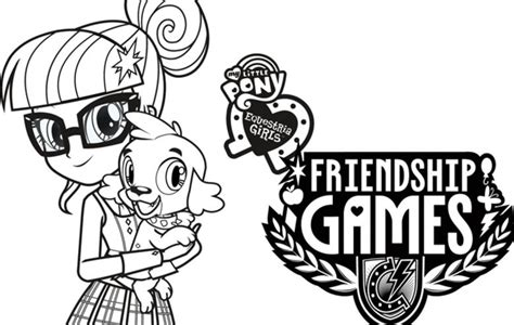 my little pony coloring pages friendship games my little pony equestria girls friendship games coloring