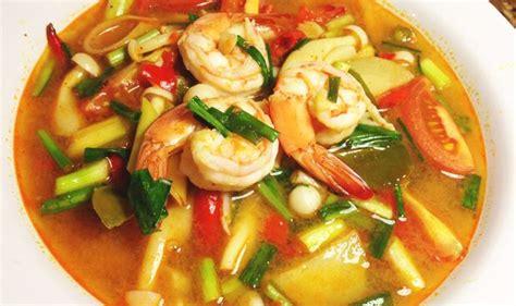 cuisine thailandaise recette la recette thailandaise du tom yam kung allo thailande