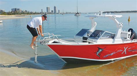 bowrider boat ladder tomahawk gallery formosa marine