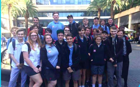 Kaos 2015 New Year 20 Tx Oceanseven it students enjoy hi tech visit to ibm central coast education news