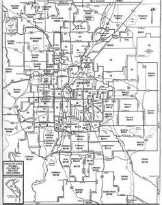 Denver Zip Codes Map by Denver City Amp Zip Code Map